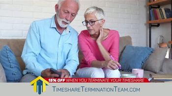 Timeshare Termination Team TV Spot, 'Costly Fees: 15% Off' - Thumbnail 2
