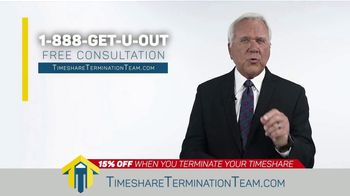 Timeshare Termination Team TV Spot, 'Costly Fees: 15% Off' - Thumbnail 9