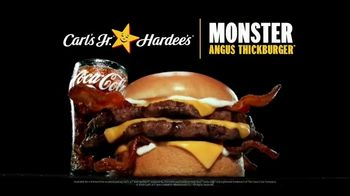 Carl's Jr. and Hardee's Monster Angus Thickburger TV Spot, 'Do Anything'