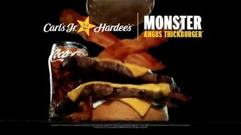 Carl's Jr. and Hardee's Monster Angus Thickburger TV Spot, 'Do Anything' - Thumbnail 7