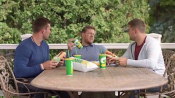 Subway TV Spot, 'The Watt Family Backyard Bickering' Featuring Derek Watt, J.J. Watt, T.J. Watt - 4034 commercial airings