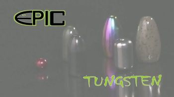 Epic Baits Fishing TV Spot, 'Tungsten Weights'