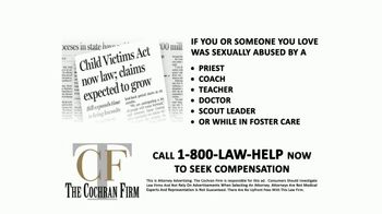 The Cochran Law Firm TV Spot, 'Child Victims Act' - Thumbnail 2