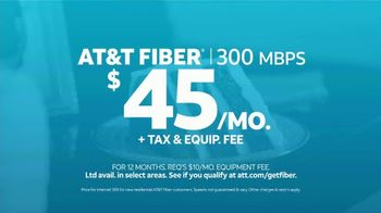 AT&T Fiber TV Spot, 'Special Lady: 300 Mbps for $45 per Month' - Thumbnail 9