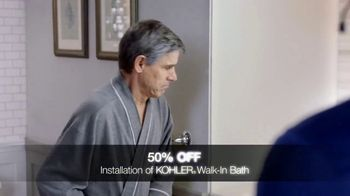 Kohler Walk-In Bath TV Spot, 'Special Financing and 50% Off' - Thumbnail 4