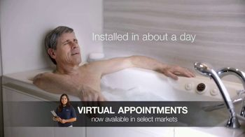 Kohler Walk-In Bath TV Spot, 'Special Financing and 50% Off' - Thumbnail 8