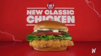 Wendy's Classic Chicken Sandwich TV Spot, 'Chicken Wars' - Thumbnail 2