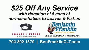Benjamin Franklin Plumbing TV Spot, 'Holidays: $25 Off Any Service' - Thumbnail 6