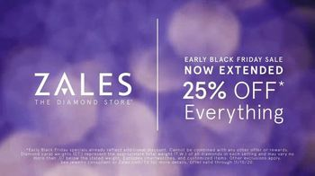 Zales Early Black Friday Sale TV Spot, 'Sparkle Like Me: 25% Off Everything' - Thumbnail 6