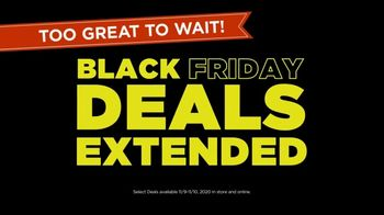 Kohl\'s Black Friday Deals TV Spot, \'Extended: Extra 20% Off, Kohl\'s Cash and Store Pickup\'