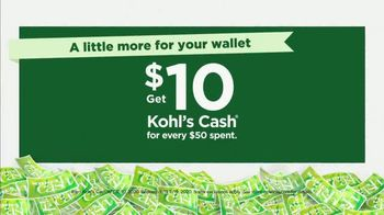 Kohl's Black Friday Deals TV Spot, 'Extended: Extra 20% Off, Kohl's Cash and Store Pickup' - Thumbnail 3