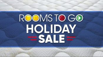 Rooms to Go Holiday Sale TV Spot, 'King Mattress for the Price of a Queen' - Thumbnail 2