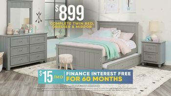 Rooms to Go Kids Holiday Sale TV Spot, '$899 Bedroom' - Thumbnail 4