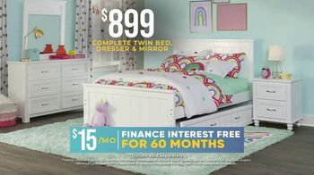Rooms to Go Kids Holiday Sale TV Spot, '$899 Bedroom' - Thumbnail 5