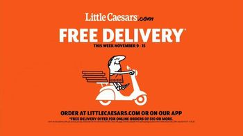 Little Caesars Pizza TV Spot, 'Piano: Free Delivery' - Thumbnail 9