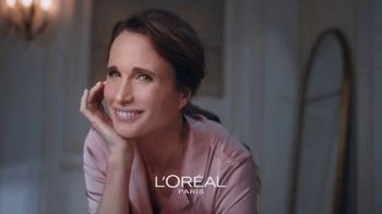 L'Oreal Paris Skin Care Age Perfect Rosy Tone Night Cream TV Spot, 'Wake Up Rosy' Featuring Andie MacDowell - Thumbnail 1