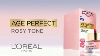 L'Oreal Paris Skin Care Age Perfect Rosy Tone Night Cream TV Spot, 'Wake Up Rosy' Featuring Andie MacDowell - Thumbnail 9