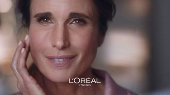 L'Oreal Paris Skin Care Age Perfect Rosy Tone Night Cream TV Spot, 'Wake Up Rosy' Featuring Andie MacDowell