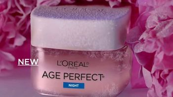 L'Oreal Paris Skin Care Age Perfect Rosy Tone Night Cream TV Spot, 'Wake Up Rosy' Featuring Andie MacDowell - Thumbnail 5