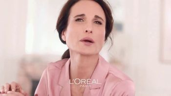 L'Oreal Paris Skin Care Age Perfect Rosy Tone Night Cream TV Spot, 'Wake Up Rosy' Featuring Andie MacDowell - Thumbnail 8