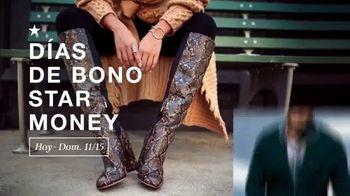 Macy's Días de Bono Star Money TV Spot, '$10 dólares en Star Money' [Spanish] - Thumbnail 1