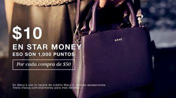 Macy's Días de Bono Star Money TV Spot, '$10 dólares en Star Money' [Spanish] - Thumbnail 2