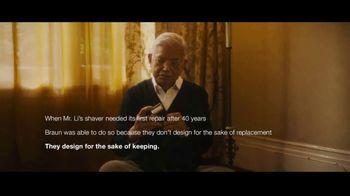 Braun TV Spot, 'For the Sake of Keeping' - Thumbnail 9