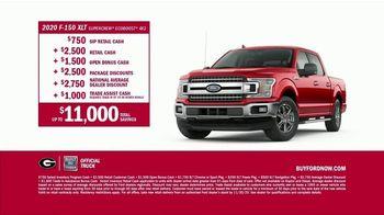 2020 Ford F-150 TV Spot, 'Georgia Bulldogs: Starting Quarterback' Featuring Kirby Smart [T2] - Thumbnail 7