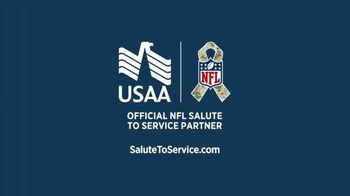 USAA TV Spot, 'Salute to Service: Thanking Those Who Have Served' Ft. Larry Fitzgerald, George Kittle - Thumbnail 9