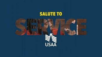 USAA TV Spot, 'Salute to Service: Thanking Those Who Have Served' Ft. Larry Fitzgerald, George Kittle - Thumbnail 1