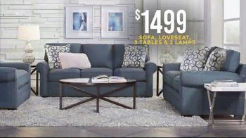 Rooms to Go Holiday Sale TV Spot, 'Classic Seven Piece Living Room Set: $1,499' - Thumbnail 4