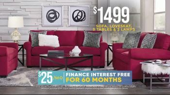 Rooms to Go Holiday Sale TV Spot, 'Classic Seven Piece Living Room Set: $1,499' - Thumbnail 5
