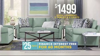 Rooms to Go Holiday Sale TV Spot, 'Classic Seven Piece Living Room Set: $1,499' - Thumbnail 6
