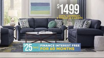 Rooms to Go Holiday Sale TV Spot, \'Classic Seven Piece Living Room Set: $1,499\'