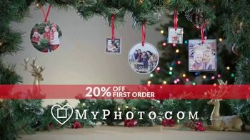 MyPhoto TV Spot, 'Holiday Gifts: 20% Off First Order' - Thumbnail 8