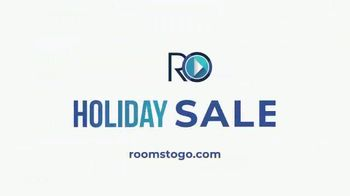 Rooms to Go Holiday Sale TV Spot, 'Leather Reclining Sofa & Stationary Loveseat: $1,695' - Thumbnail 9