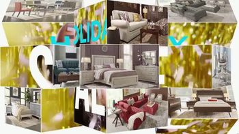 Rooms to Go Holiday Sale TV Spot, 'Leather Reclining Sofa & Stationary Loveseat: $1,695' - Thumbnail 2