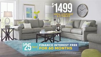 Rooms to Go Holiday Sale TV Spot, 'Chic Five Piece Living Room Set: $1,499' - Thumbnail 6