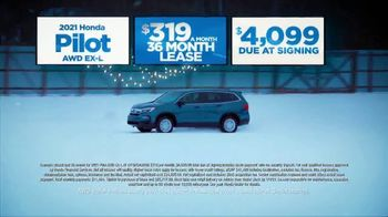 Happy Honda Days Sales Event TV Spot, 'Holiday Clearance: Pilot' [T2] - Thumbnail 3