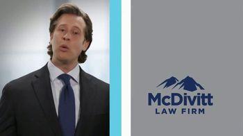 McDivitt Law Firm, P.C. TV Spot, 'Confidence' - Thumbnail 2