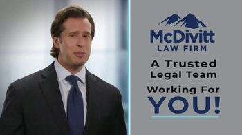 McDivitt Law Firm, P.C. TV Spot, 'Confidence' - Thumbnail 3