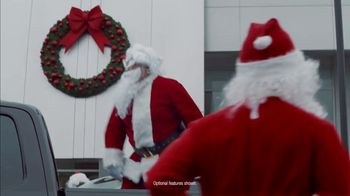 Ford Built for the Holidays Sales Event TV Spot, 'Running of the Santas' [T2] - Thumbnail 4