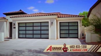 A1 Garage Door Service Garage Door Sale TV Spot, 'Upgrade: $200 Off + Fry's Goft Card'