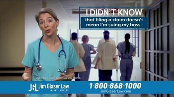 Jim Glaser Law TV Spot, 'Didn't Know: Suing'