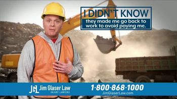 Jim Glaser Law TV Spot, 'Didn't Know: Suing' - Thumbnail 4