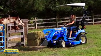 New Holland Workmaster 25S TV Spot, 'Big Impact: No Offer'