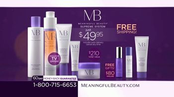 Meaningful Beauty TV Spot, 'What's Meaningful to You' Featuring Cindy Crawford, Ellen Pompeo - Thumbnail 9