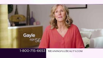 Meaningful Beauty TV Spot, 'What's Meaningful to You' Featuring Cindy Crawford, Ellen Pompeo - Thumbnail 2