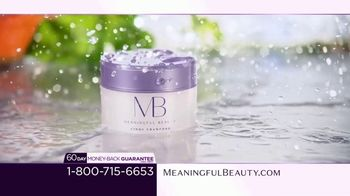 Meaningful Beauty TV Spot, 'What's Meaningful to You' Featuring Cindy Crawford, Ellen Pompeo - Thumbnail 7