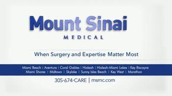 Mount Sinai Medical Center TV Spot, 'Number One' - Thumbnail 10